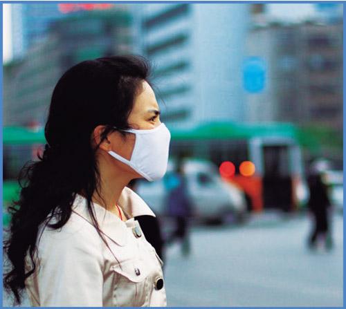Без маски с филтър за нос НОСК