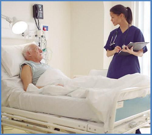 Предпазва при посещения в болници и клиники