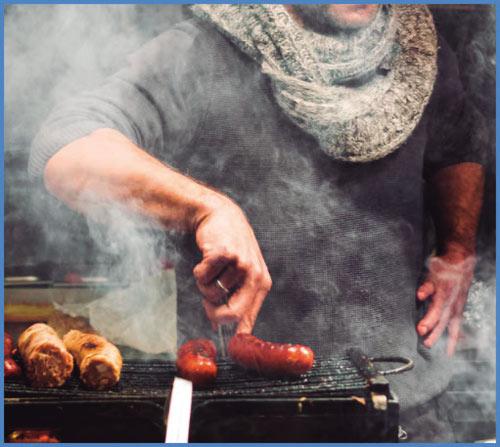 Ефективен срещу дима дори при готвене